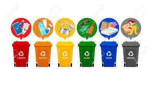 سطل تفکیک زباله درمحل
