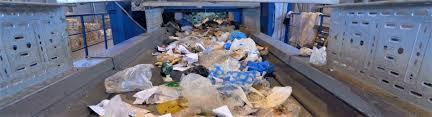 بازیافت زباله در سایت پردازش زباله
